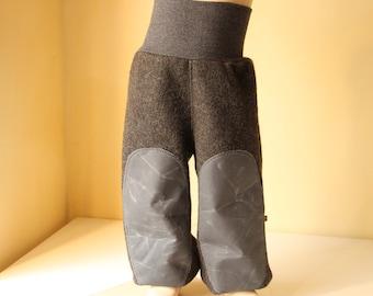Walkpants Alpaca Merino Oilskin Pants Wollwalk