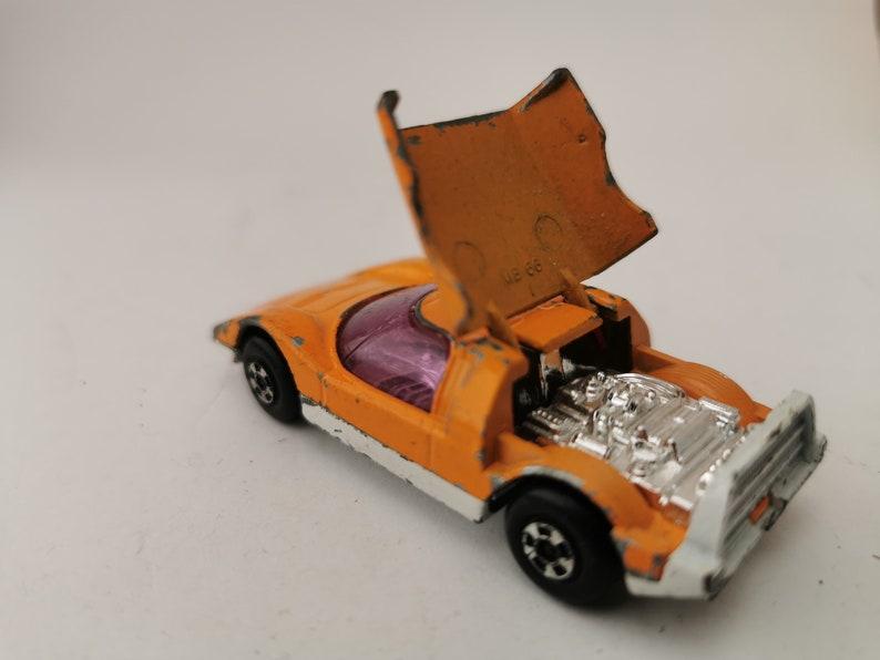 Mazda RX500 orange Matchbox Superfast Lesney Products No.66-1971