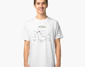 7d31d203507d Chicken lover animal white T Shirt retro Tshirt 90s women men unisex ALL  sizes