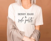 Skinny Jeans Side Part - Forever