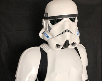 Spare Part for a Stormtrooper Costume from UK Rear Upper Back Armour Plate