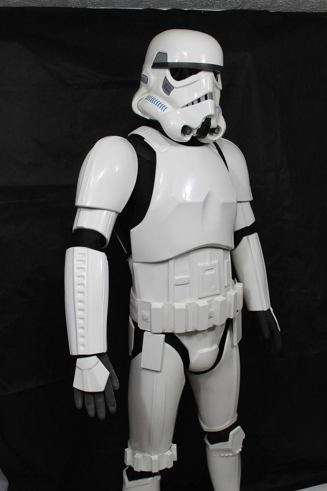 Star Wars Stormtrooper Armor kit Idealized Version Glossy ABS image 1