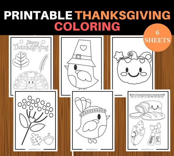 Printable Thanksgiving November Kid Coloring Pages Printable | 513x570