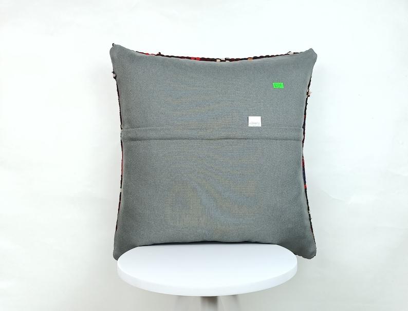 Throw Pillows Vintage Pillow Sofa Pillow Vintage Pillow 18x18 Kilim Pillow Geometric Pillow E337 Striped Pillow Cushion Cover