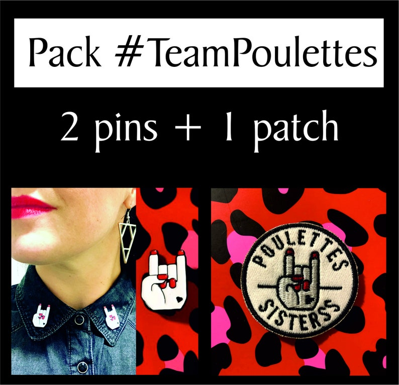 Pack Team Poulette image 0