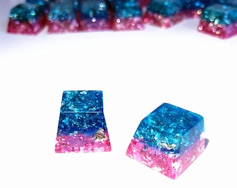Keyboards Computer & Office Buy Cheap Handmade Sa Transparent Pure Resin Backlit Keycap Keycaps Key Cap For Cherry Mx Mechanical Gaming Keyboard