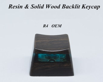 Computer Peripherals Buy Cheap Handmade Sa Transparent Pure Resin Backlit Keycap Keycaps Key Cap For Cherry Mx Mechanical Gaming Keyboard Mouse & Keyboards