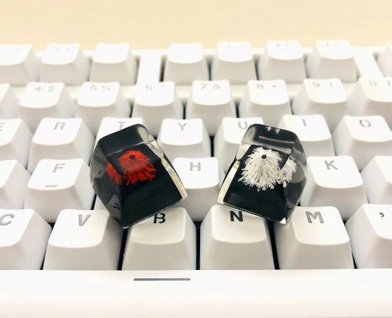 Volcano  Resin Key Cap Personalized Key Cap ESC Mechanical keyboard Key Cap Keyboard Decoration. Mechanical Keyboard Accessories Key Cap