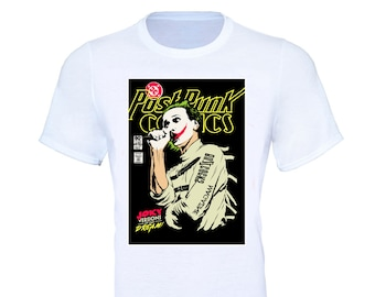 5fea9028683f The Buzzcocks Joker Suicide Squad Comic Book T-Shirt - Adult & Kids Sizes
