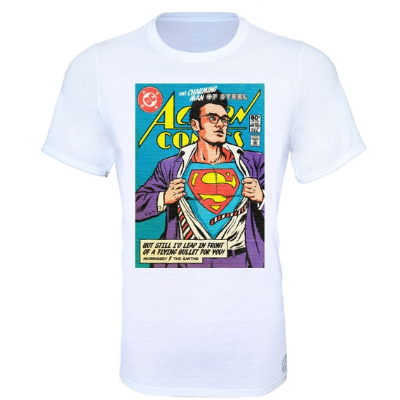 Super Booths Adult Ringer T Shirt S Superman