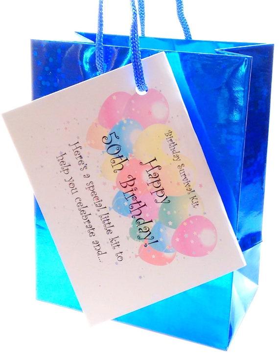 30th 40th 50th 60th BIRTHDAY PRESENT SURVIVAL KIT FUN NOVELTY GIFT CARD KEEPSAKE