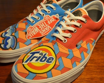 e47d47fa86 Custom Vans Shoes - Canvas Era - STS9