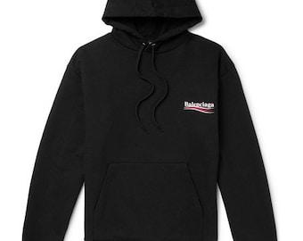 fe1221ab customise print balenciaga logo men women ladies hoodie London summer wear  top