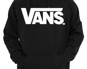23899b9b6bd1c8 customised VANS hoodie women men unisex top present gift UK printed