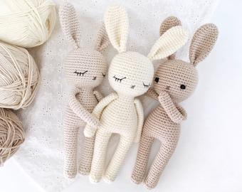 Pretty bunny amigurumi in dress Konijn met jurk patroon in het ...   270x340