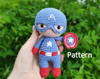 Thor Amigurumi Crochet Free Pattern Marvel Comics Avengers (With ... | 270x340