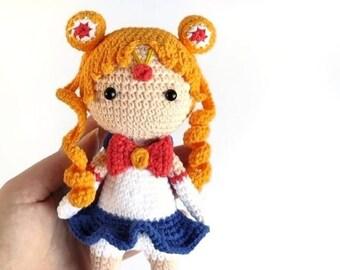 Trendy Crochet Amigurumi Anime Ideas 40 Ideas | Crochet amigurumi ... | 270x340