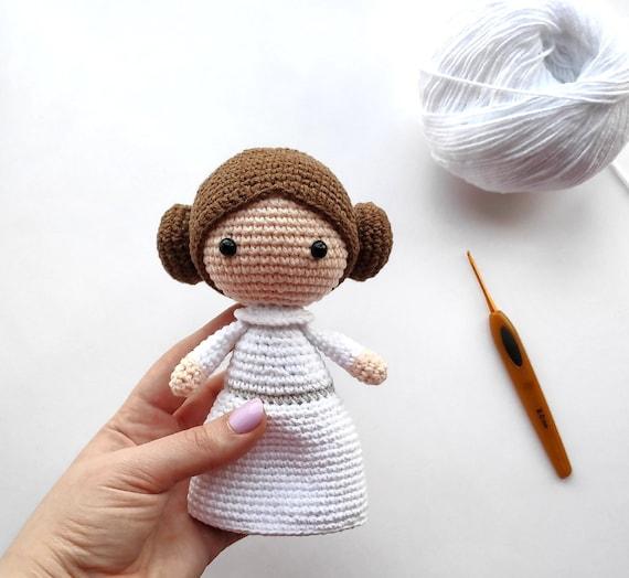 Amigurumi Princess Doll in Cape Crochet Free Pattern | 524x570
