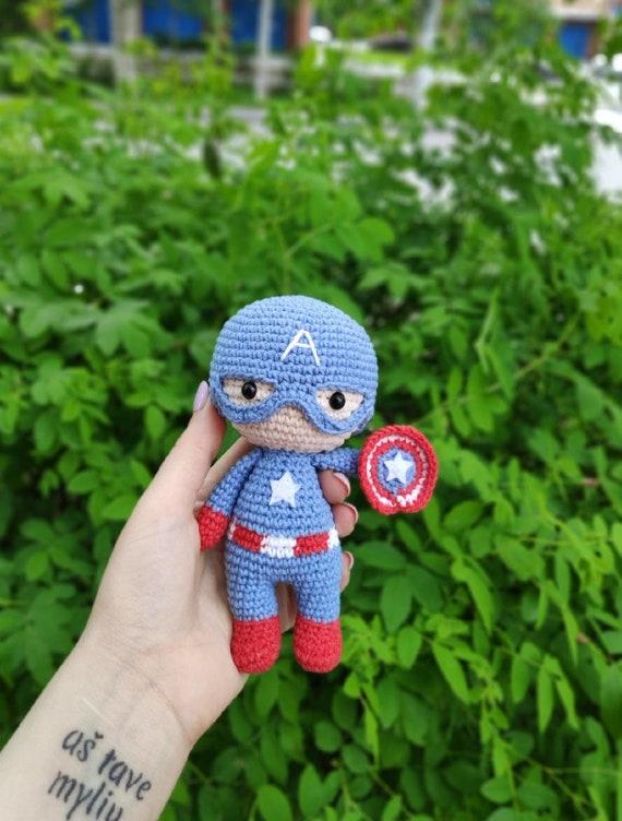 Captain Marvel Amigurumi – Minasscraft Patrones Amigurumis | 752x570