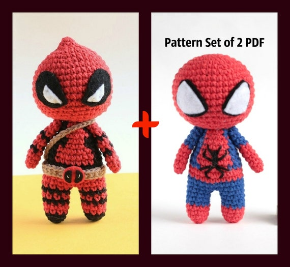 super heroes amigurumi tutorial - YouTube | 525x570