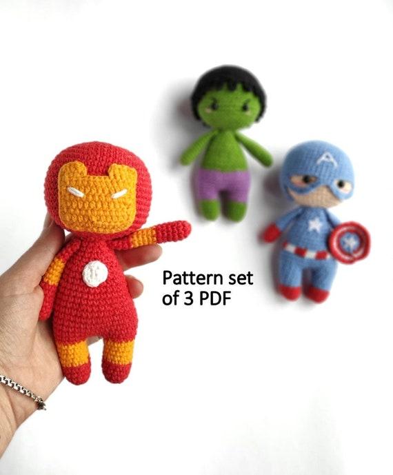 Crochet Iron Man - Free Pattern by amilovesgurumi on DeviantArt | 689x570