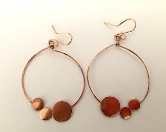 Circles On A Circle Earrings