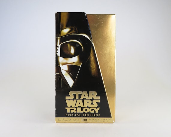 Star Wars Vhs Tapes Star Wars Trilogy Special Etsy