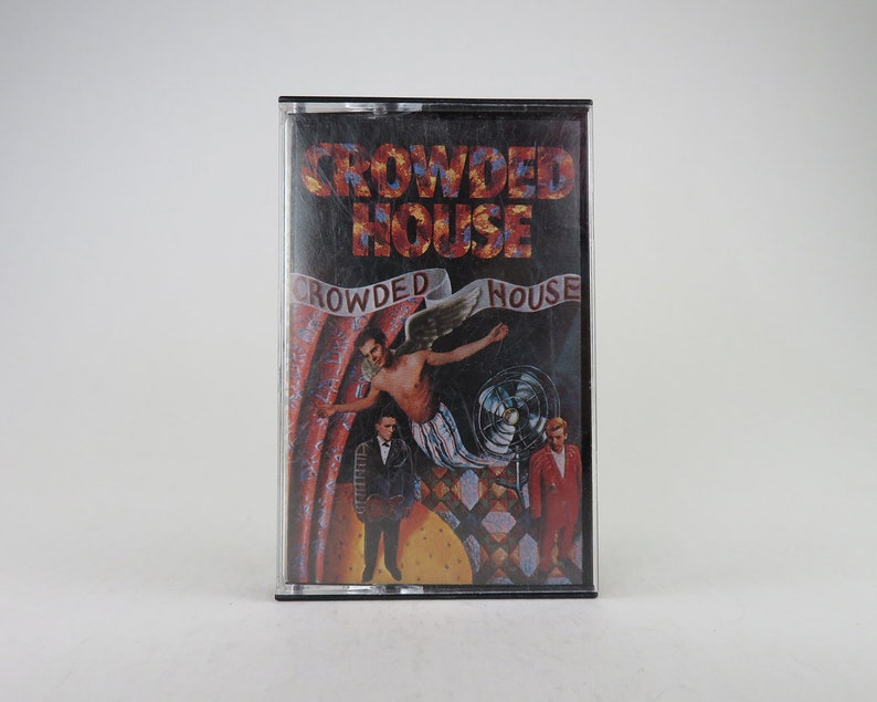 Admirable Crowded House Cassette Tape Crowded House 1986 Home Remodeling Inspirations Cosmcuboardxyz