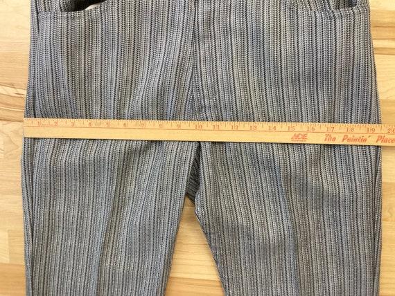 Levis big E 32x30.5 striped 60s sta prest vintage… - image 7
