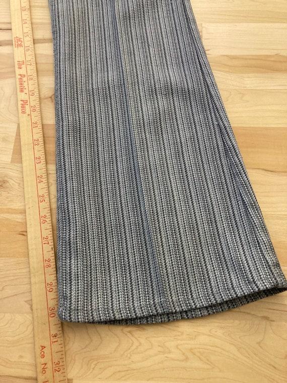 Levis big E 32x30.5 striped 60s sta prest vintage… - image 6