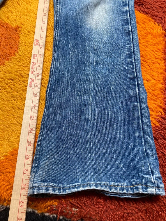 Lee bootcut 32x28.5 70s flare retro jeans - image 4