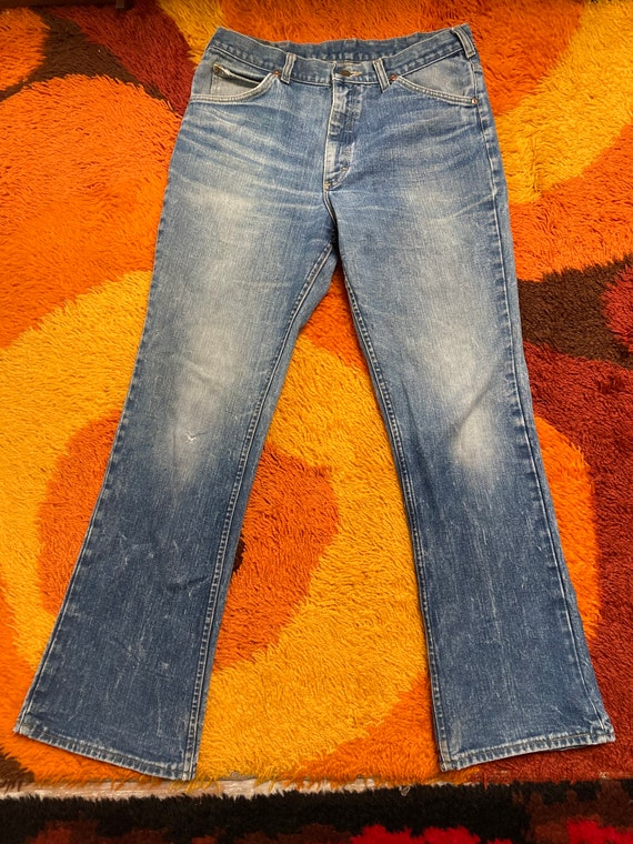 Lee bootcut 32x28.5 70s flare retro jeans