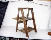 Rustic Plant Stand Very Unique Shelf Steps Booth Display Big Shelves For Plants Free Shipping