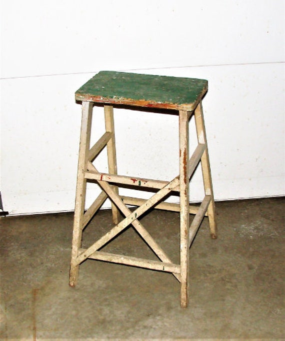 Admirable Wood Farm Stool Farm Decor Old Abandoned Farm House Rustic Plant Stand Log Home Decor Primitive Decor Creativecarmelina Interior Chair Design Creativecarmelinacom