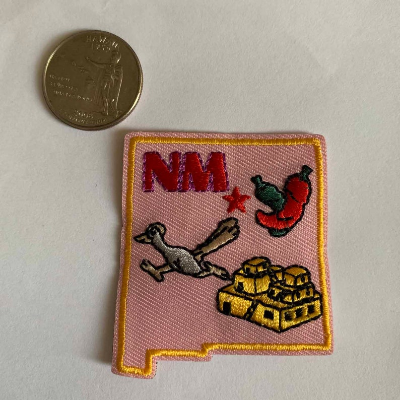 NM Iron on New Mexico State Patch