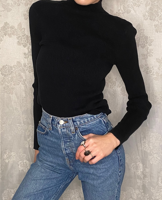 POLO Jeans Co. Vintage Ribbed Turtleneck (S)