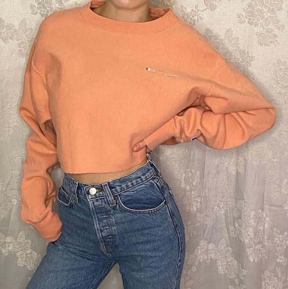 Vintage Cropped CHAMPION Sweater (XS-L)