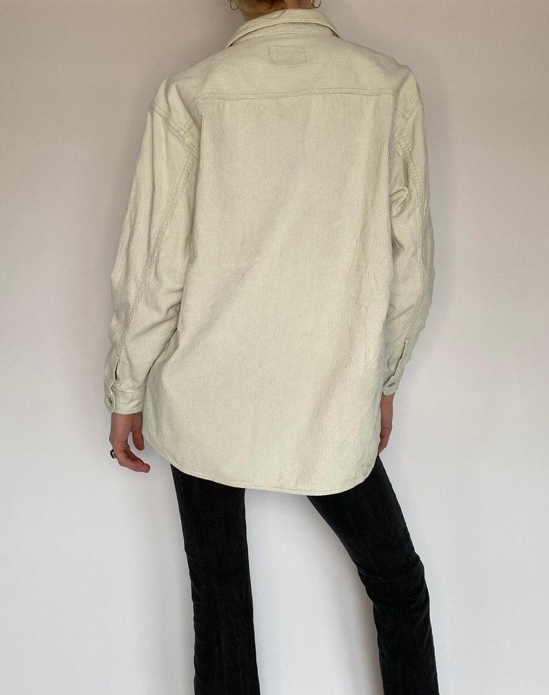 M Vintage Corduroy Cream Jacket