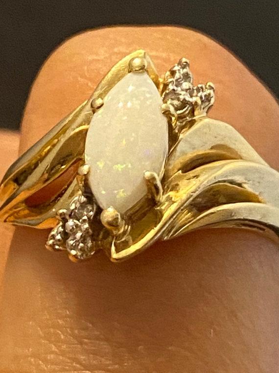 10k OPAL Ring size 9