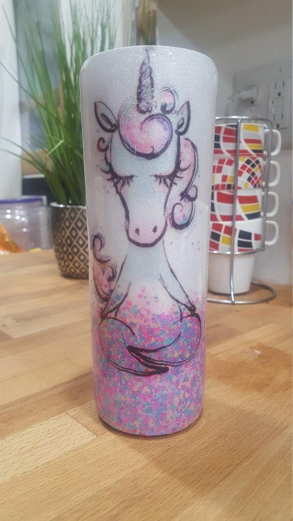 Confetti Unicorn Tumbler