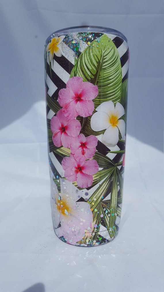 Hibiscus Tumbler