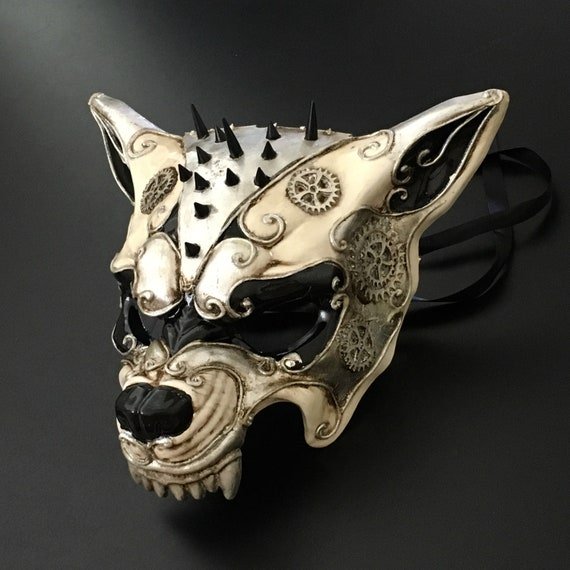 Halloween Black Silver Eagle Evil Scary Costume Masquerade Party Mask