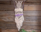 Macraweave, Unique Decor, Macrame Wall Hanging, Macraweave Woven Tapestry, Home Decor Wall Art, Woven Wall Hanging, Fiber Art, Neutral Weave