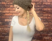 Knitted Hat, Women Oversized Hat, Winter Baggy Hat, Adult Teen Fashion Knit Slouchy Hat, Winter Hat Big, Slouchy Cap