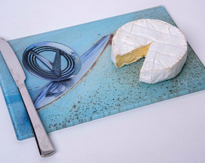 Cheese Board or Cutting Board - Buick hood ornament