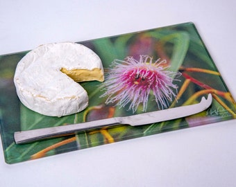 Australian Gumnut Flower Cutting/Cheese Board