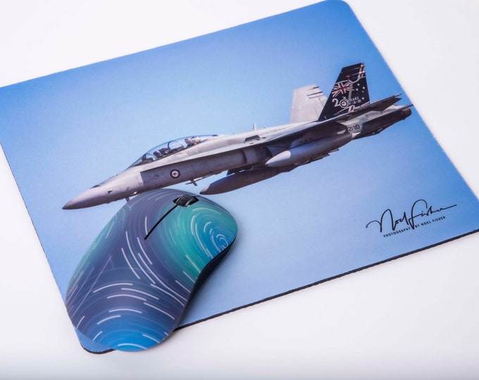 FA 18 Hornet Jet Fighter Mouse Pad