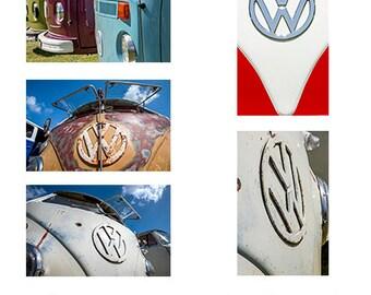 VW Kombi. A6 note card series