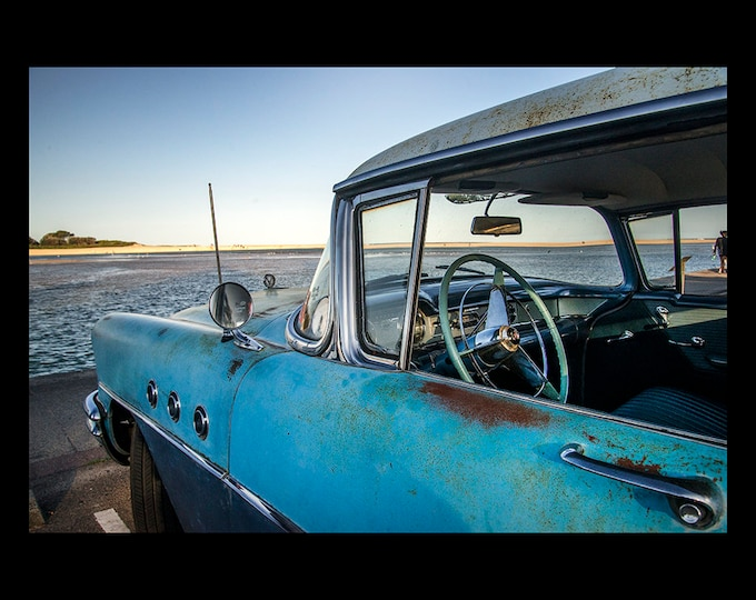 Buick by the Lake - Limited Edition Photographic Wall Art