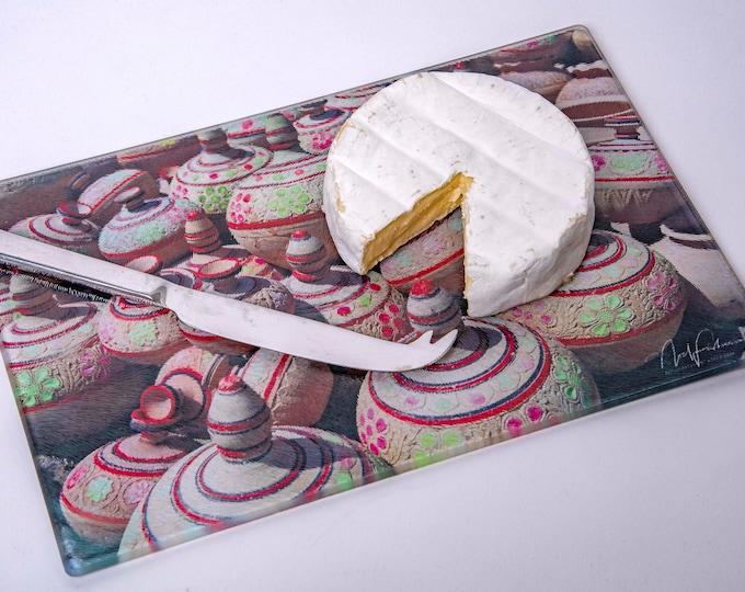 Arabic Pots Cheese/Cutting Board